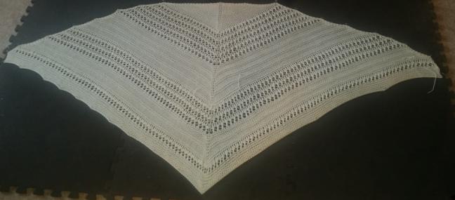 wedding-shawl-blocking